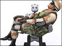 El robot BEAR (Foto: Vecna Robotics)