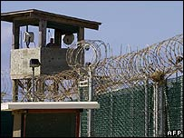 Guantanamo Bay prison camp (file photo)