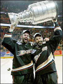 Scott and Rob Niedermayer
