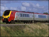Virgin Voyager train