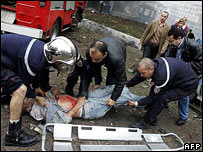Aftermath of Algiers bombings, 11 April 07
