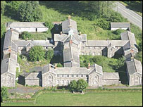 Llanfyllin workhouse (picture: Y Dolydd Building Preservation Trust)