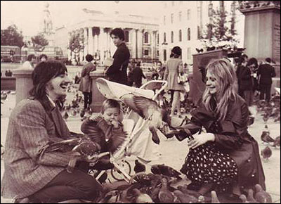 Trafalgar Square, 1970 or 1971