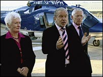Margaret, Sir Alan and Nick set a task