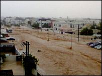 فيضانات في مسقط