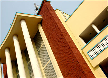 Kinshasa's central post office