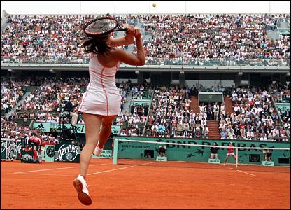 Jelena Jankovic and Justine Henin