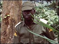 Biafran soldier