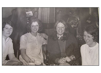 Jo Anne Campbell's mother and friends, 1970