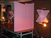 Imagen del experimento del MIT