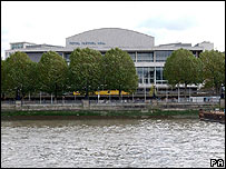 The refurbished auditorium at the Royal Festival Hall