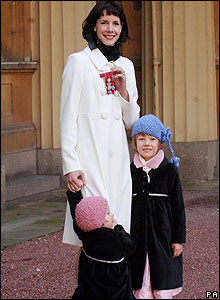 Darcey Bussell at Buckingham Palace