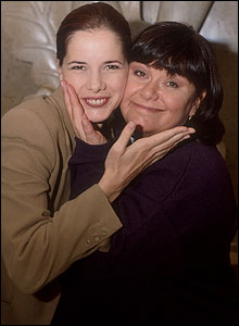 Darcy Bussell and Dawn French