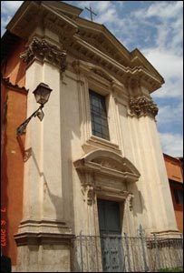 The church of Sant'Egidio in Rome, Italy