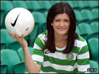 Kayleigh Cameron is the daughter of former Aberdeen player Ian Cameron
