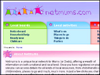 Screengrab of Netmums, BBC