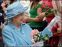 The Queen in Romsey