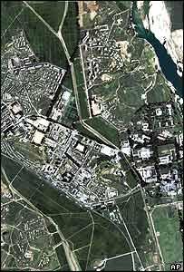 Yongbyon photographed by satellite