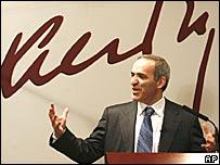 Kasparov en conferencia