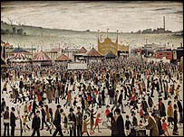 Good Friday, Daisy Nook by L S Lowry