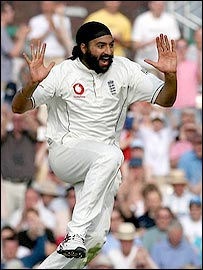 Monty Panesar took four wickets as West Indies collapsed spectacularly
