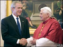 President Bush and Pope Benedict