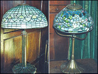 Stolen Tiffany lamps