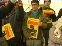 Rendition flight protestors