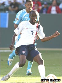 DaMarcus Beasley in action against Guatemala