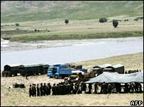 Turkish army exercises near Cizre