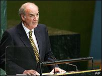 José Antonio García Belaunde en la ONU
