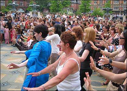 Bollywood dancing lesson in Sheffield