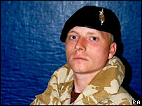 L/Cpl Paul Sandford (File photo)