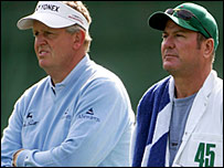 Colin Montgomerie and Alastair McLean