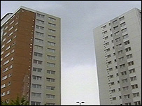 Flats in Butetown, Cardiff