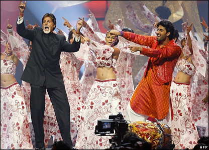 Amitabh and Abishek Bachchan