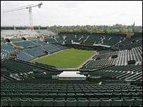 Wimbledon Centre Court in April 2007