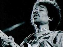 Jimi Hendrix/ Isle of Wight 1970/ Douglas White