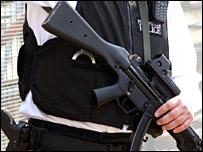 Armed Met policeman