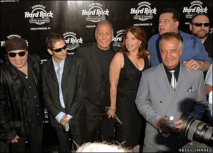 Cast members from The Sopranos