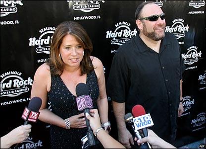 Lorraine Bracco and James Gandolfini