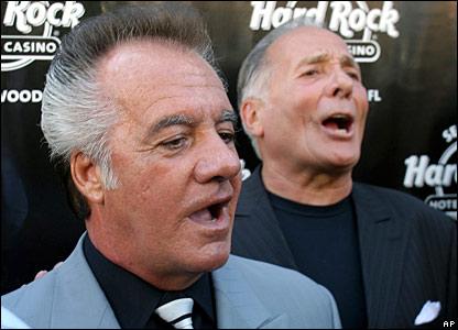 Tony Sirico and Arthur Nascarello