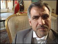 Mohammad Bahrami, Iranian ambassador to Kabul