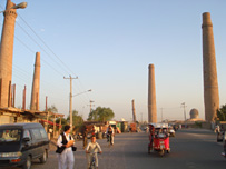 Sunset shot of Herat