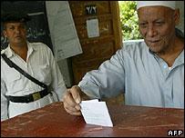 مشاكل في الانتخابات المصرية