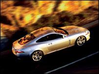 Jaguar 155mph XK coupe