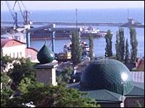 Makhachkala - Dagestan's capital on the Caspian Sea