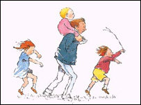 Illustration from We're Going On A Bear Hunt