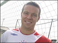 Scotland midfielder Gavin Rae