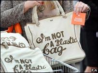Reusable cotton bag